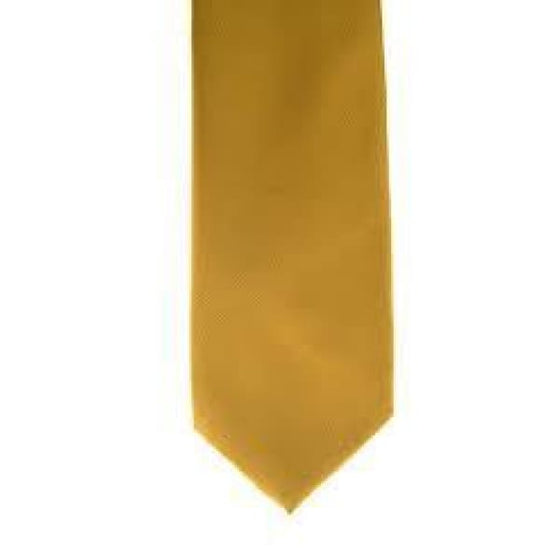 Showquest Child Tie Plain Sunshine