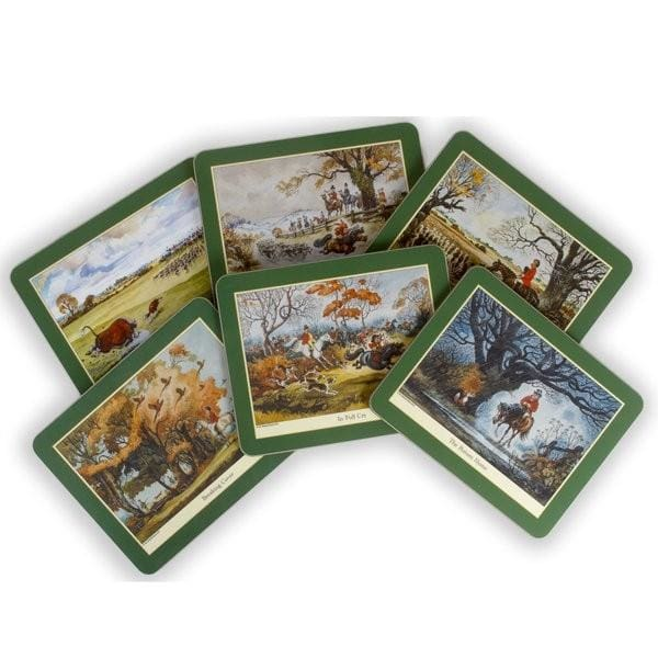 Thelwell Collectable Hunting Placemats - Place Mats