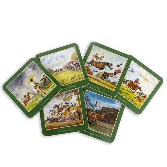 Thelwell Collectable Racing Coasters - Coasters