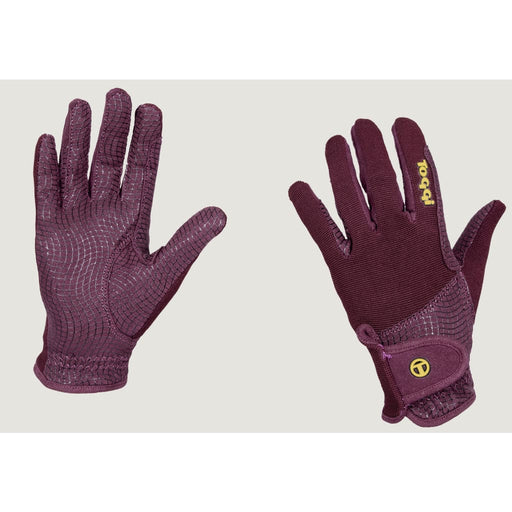 Toggi Budenny Riding Glove - Small / Berry - Gloves