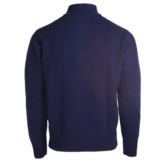 Toggi Men's 1/4 Zip Sweater Fraser Navy - XL / Navy - Men's sweater