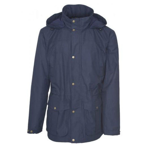 Toggi Men's Chatton Waterproof Long Coat Navy - Men's Coat