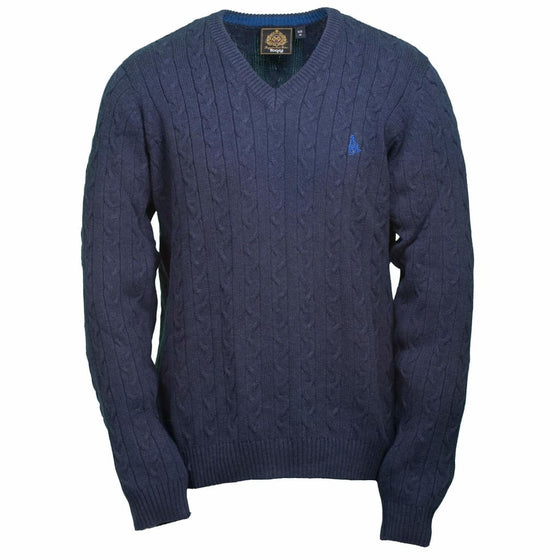 Toggi Men's V Neck Sweater Coleman Navy - Men's sweater