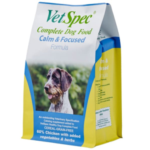 VetSpec Calm & Focused Formula 2Kg Premium Complete - Dog Feed