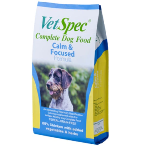 VetSpec Calm & Focused Formula - Dog Feed
