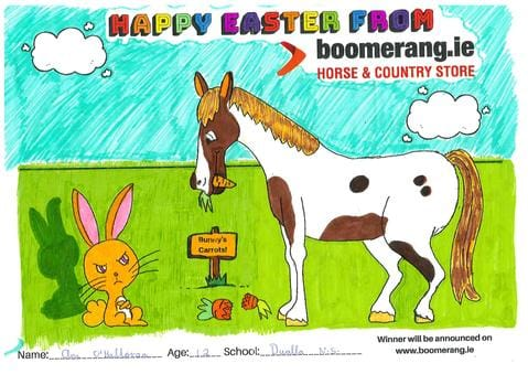 Easter Colouring Competition Winners