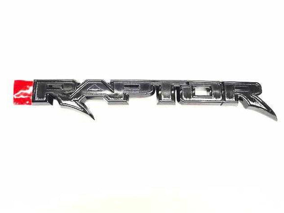 2017-2018 Ford Raptor Tailgate Emblem (Without Tailgate Appliqué)