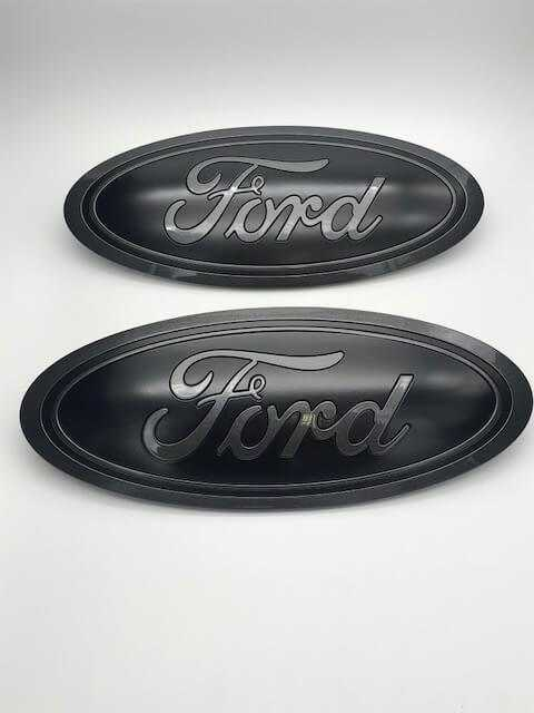 ford   custom painted grille tailgate oval set oemautoart