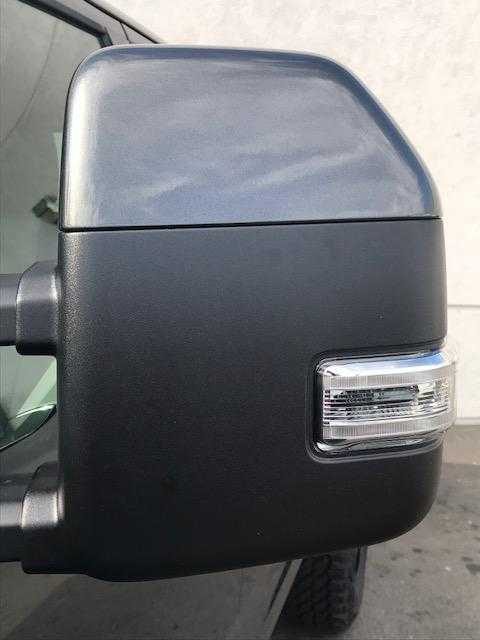 New OEM 17 Ford F-250 Super Duty Painted to Match Mirror Caps SHADOW BLACK