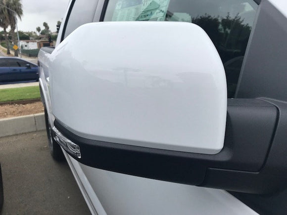 2015+ Ford Genuine Parts F-150 Custom Painted Mirror Cap Set (RH/LH)