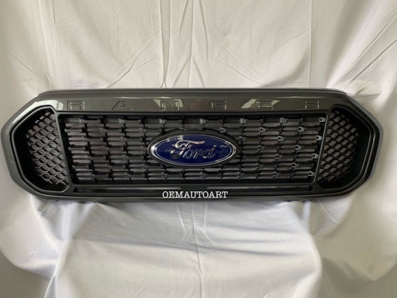 2019 Ford Ranger Factory Painted Grille- OEM Ford Parts- Magnetic (J7) | OEMAUTOART
