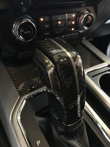 2015-2019 Ford Genuine Parts F-150/ Raptor Carbon Fiber Floor Console Shift Handle | OEMAUTOART