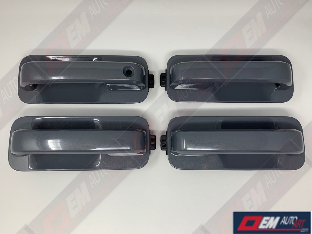 2015-2020 Ford Genuine Parts F-150 XL/XLT/STX Custom Painted Full Door Handle Set- All Colors | OEMAUTOART