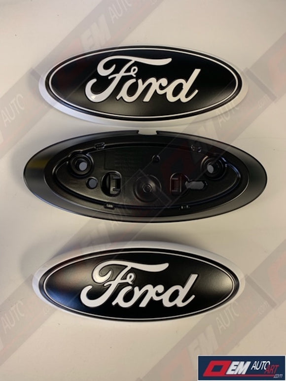 2019 Ford Ranger Custom Painted Grille & Tailgate Oval and Camera Housing- OEM Ford Parts- All Colors Available | OEMAUTOART