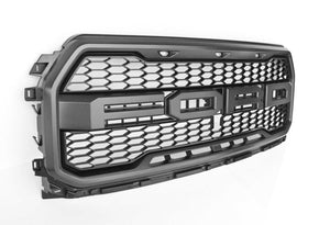 2017-2018 Ford Raptor SVT Grille Magnetic- Custom Colors Available-Rear View Camera Fixed - OEMAUTOART