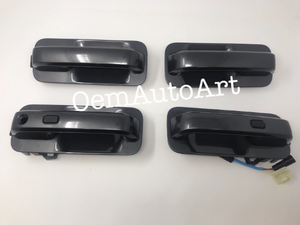 2017-2018 Ford F-Series Super Duty Custom Painted Outer Door Handle Set - OEMAUTOART