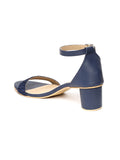 Monrow Kensley Blue Block Heel
