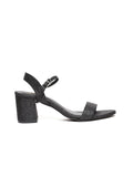 Natasha Black Block Heel