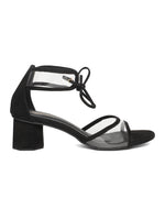 Linda Black Block Heel