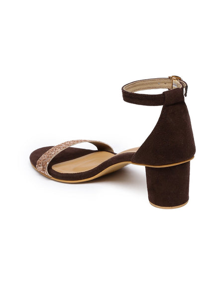 Laney Brown Block Heel