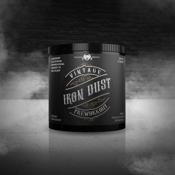Vintage Iron Dust Preworkout