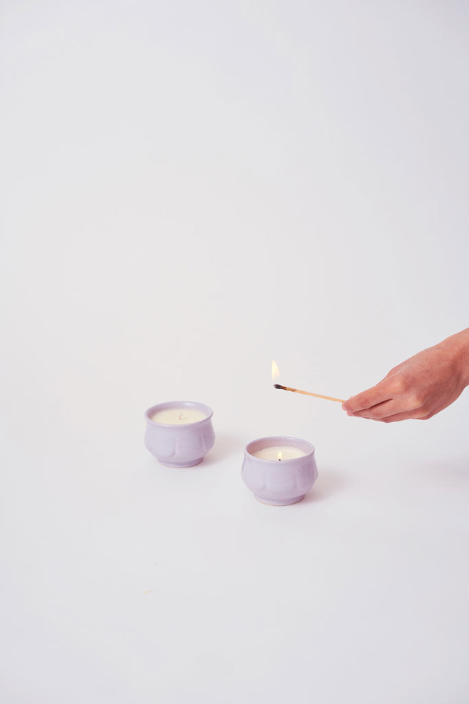SERENE CANDLES (Lilac)