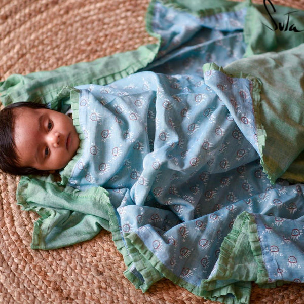 Ms. Blue Jelly Bean (BABY CLOTH) - suta.in