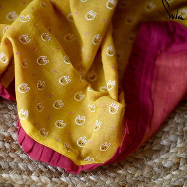 Ms. Yellow Fluffybuns (BABY CLOTH) - suta.in
