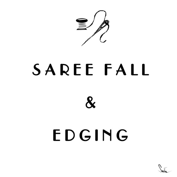 Sari Fall And Edging - suta.in