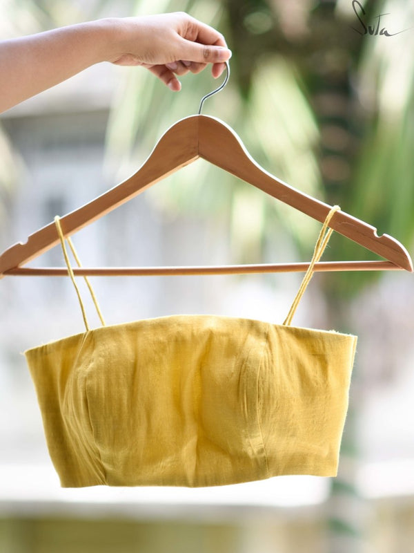 Yellow Mind (Blouse) - suta.in