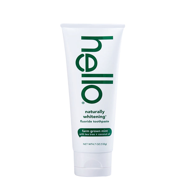Hello Naturally Whitening Fluoride Toothpaste