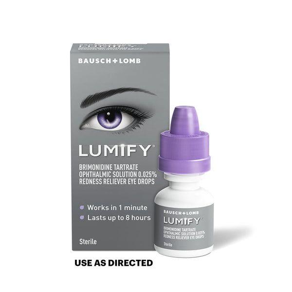 Lumify® Redness Reliever Eye Drops