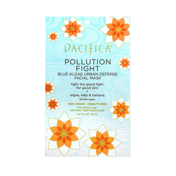 Pacifica Pollution Fight Blue Algae Urban Defense Facial Mask