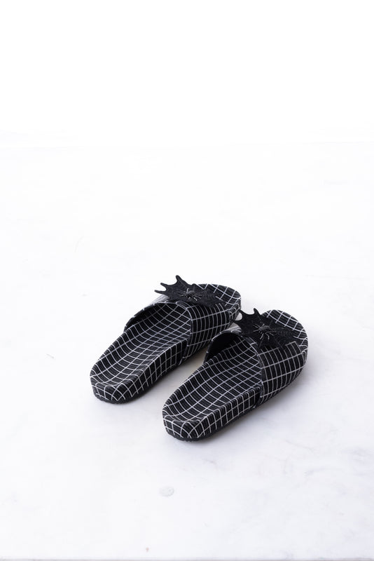 Patch Slide - Black Grid