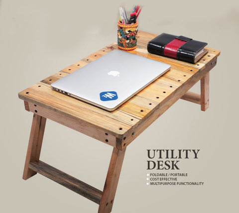 utility desk table by woezer events