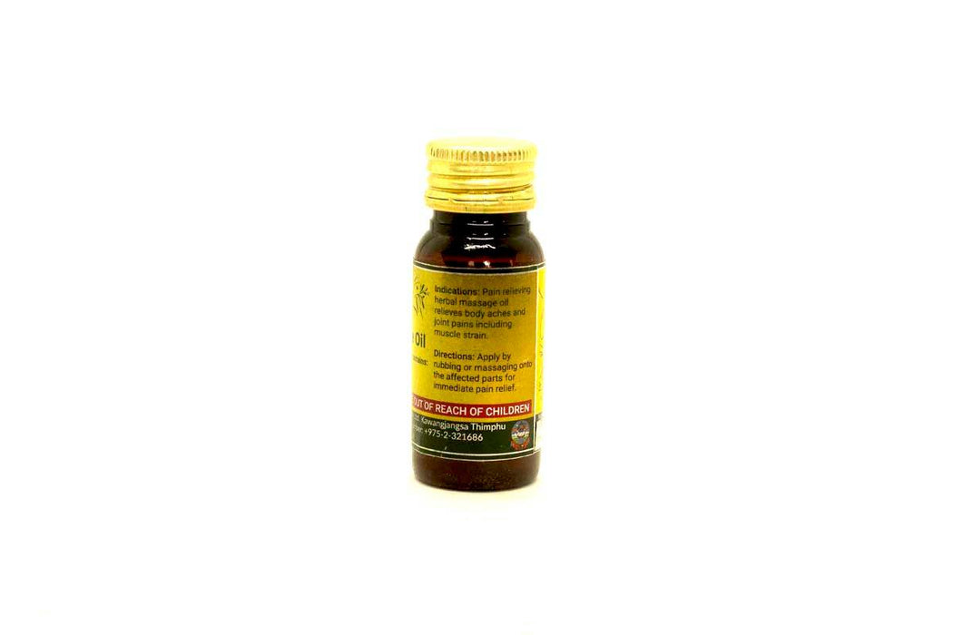 Herbal Massage Oil from Bhutan