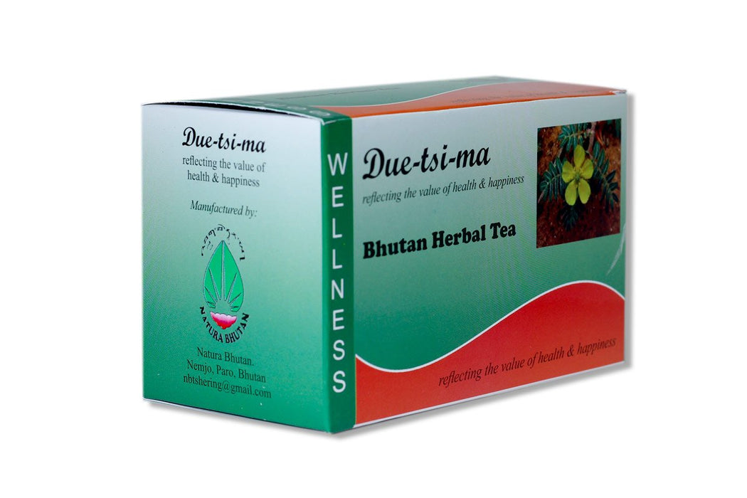 Due-Tsi-ma herbal tea from Bhutan - Druksell.com