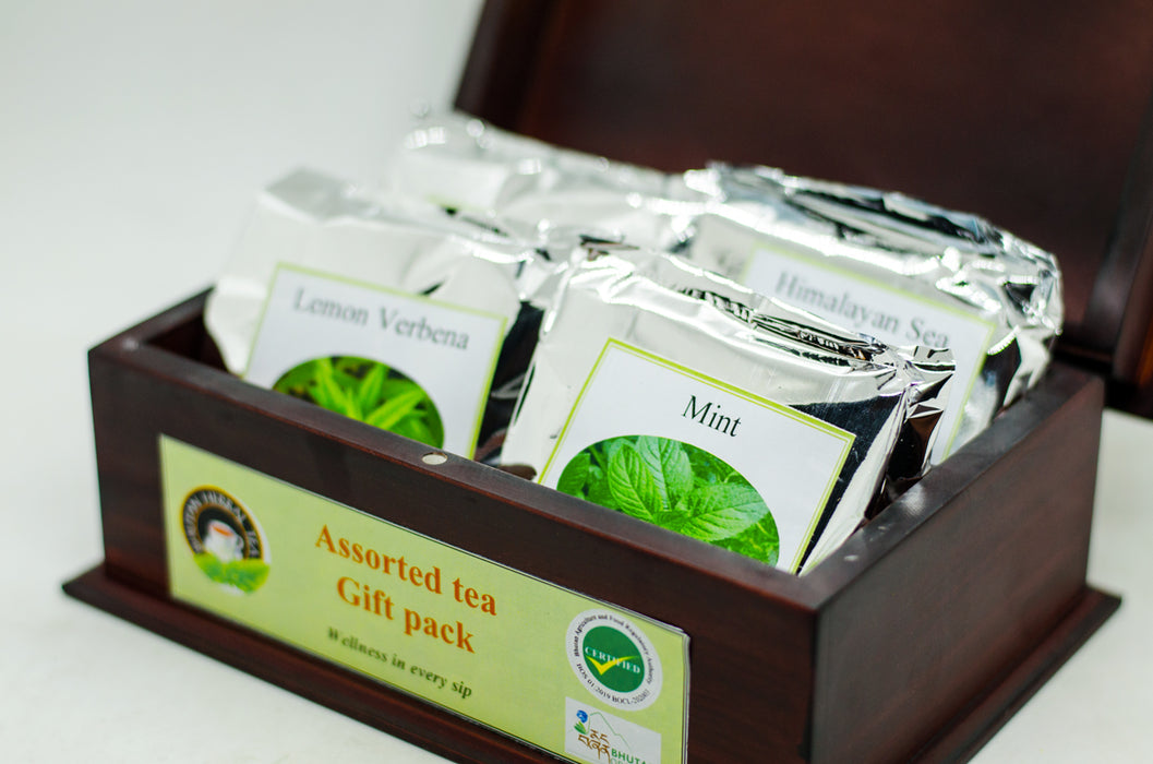 Bhutan Herbal Tea Assorted tea Gift pack