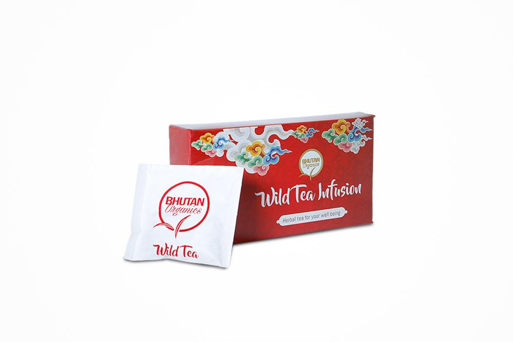 Bhutan organics wild tea infusion herbal tea for your well being