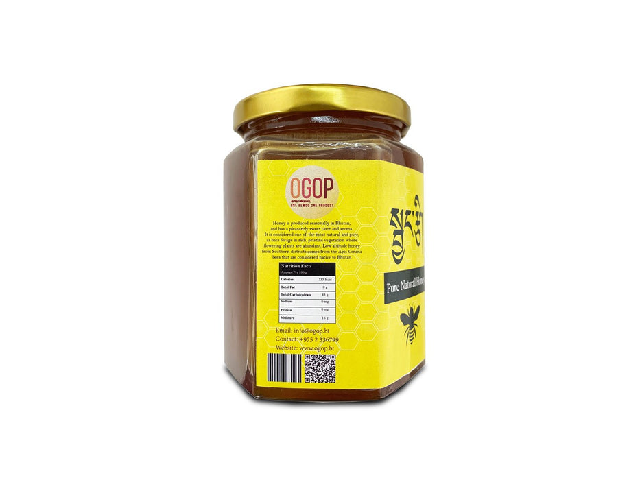 Pure Natural Honey from Bhutan - Druksell.com