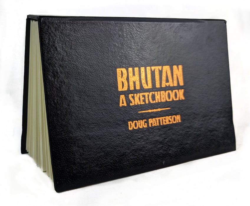 BHUTAN - A Sketchbook
