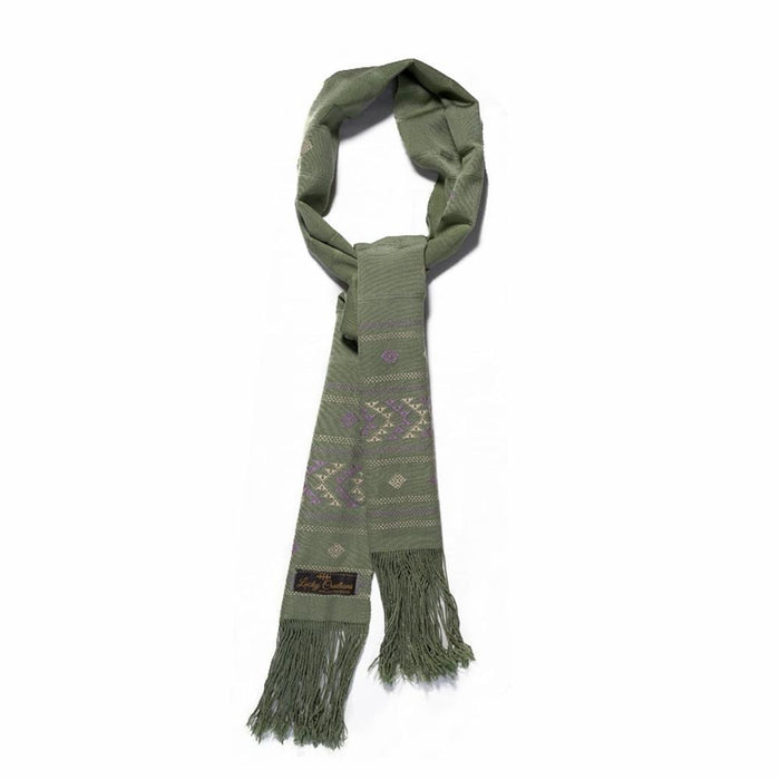 Scarf in traditional (Light Green)