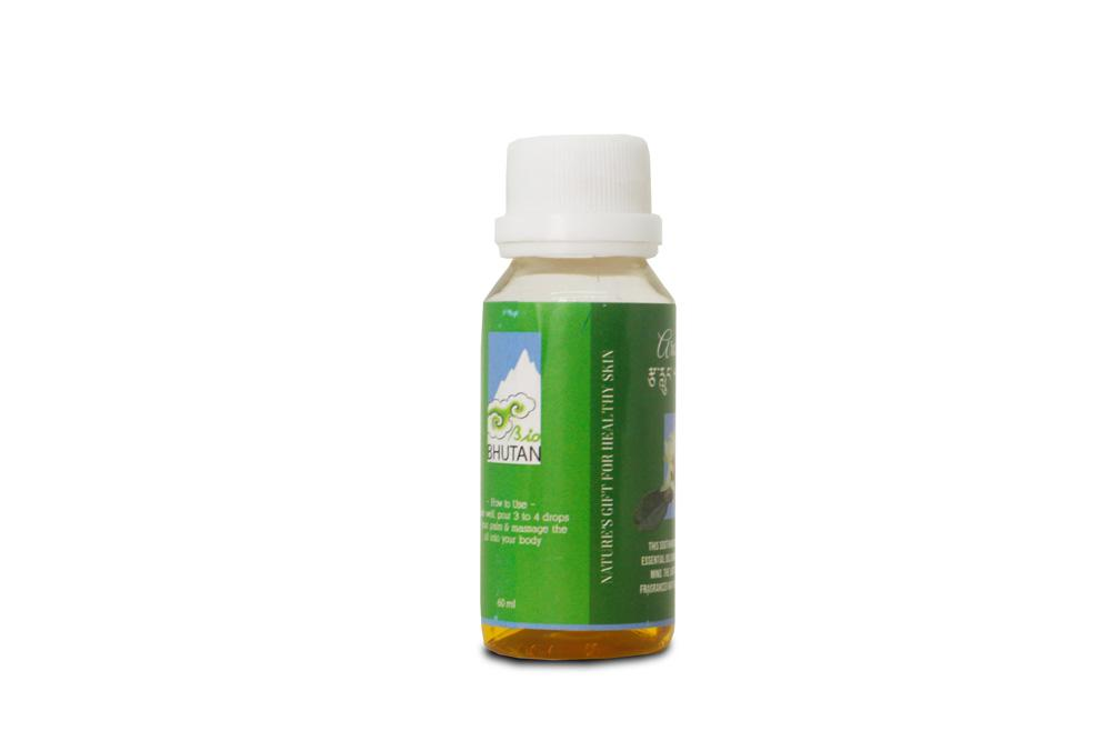 Bio Massage Oil from Bhutan - Druksell.com