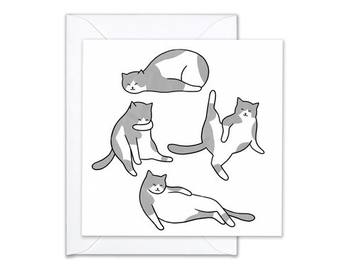 Cat's Life / Greeting card
