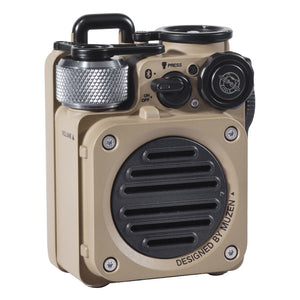 Muzen Wild Mini Rugged Outdoor Speaker, Bluetooth Portable Speaker with Louder Volume(Not include lanyard)