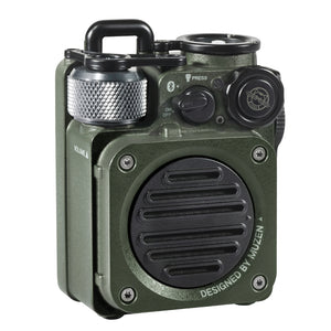 Muzen Wild Mini Rugged Outdoor Speaker, Bluetooth Portable Speaker with Louder Volume, Green(Not include lanyard)