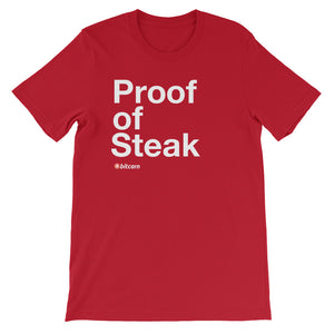 Proof of Steak Tee