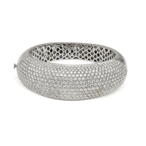 Diamond Pillow Bangle