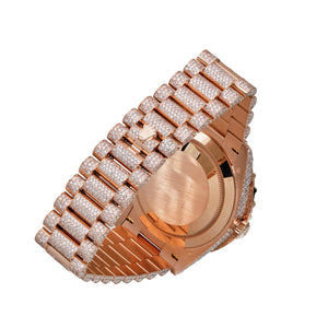 Rolex Day Date Rose Gold Watch