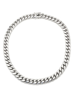 Cuban Link White Gold Chain